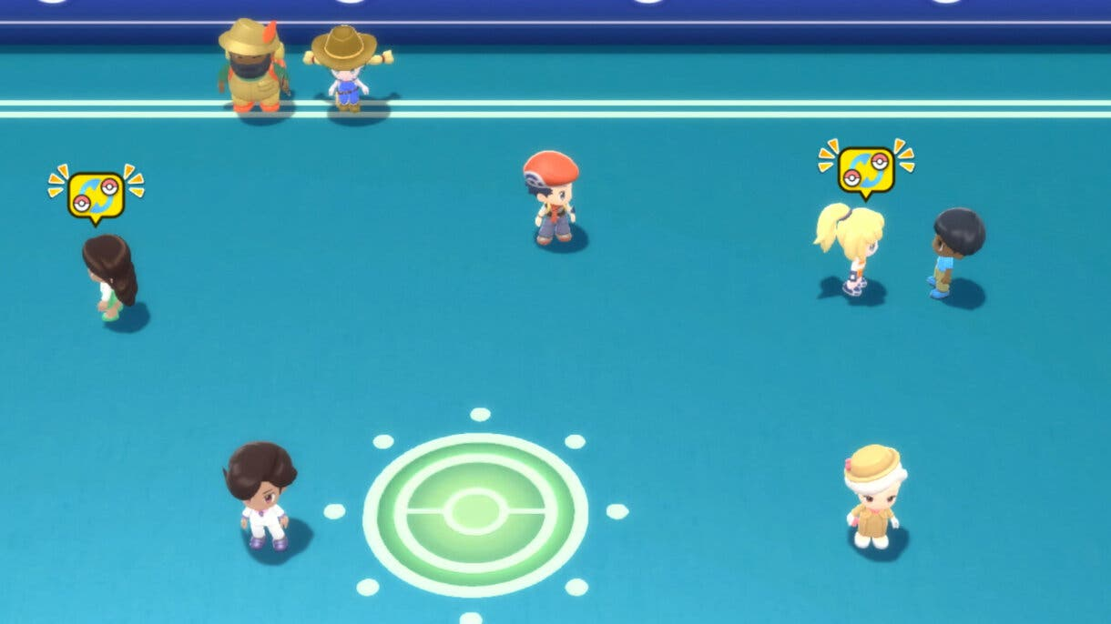 Pokemon Diamante Brillante y Perla Reluciente Sala Union