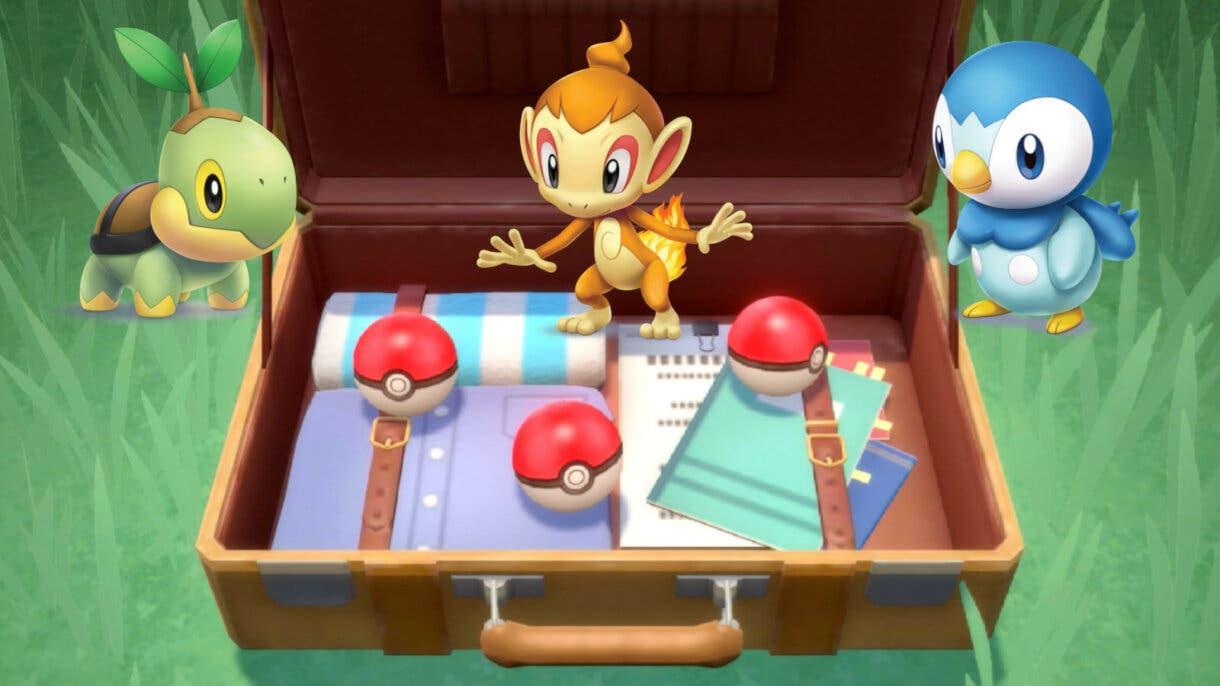 Pokemon Diamante Brillante y Perla Reluciente Turtwig Chimchar Piplup