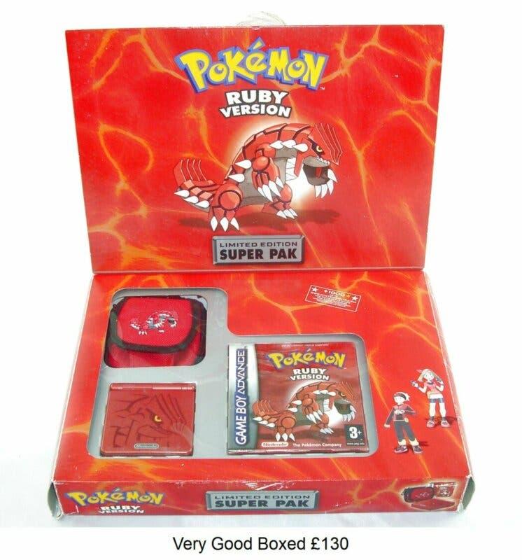 Pokemon Game Boy Advance SP Pokemon Rubi