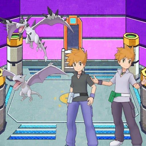 Pokemon Masters EX Azul y Aerodactyl