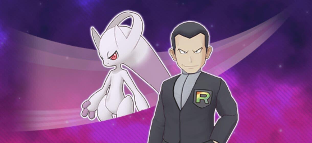 Pokemon Masters EX Giovanni Mega-Mewtwo Y