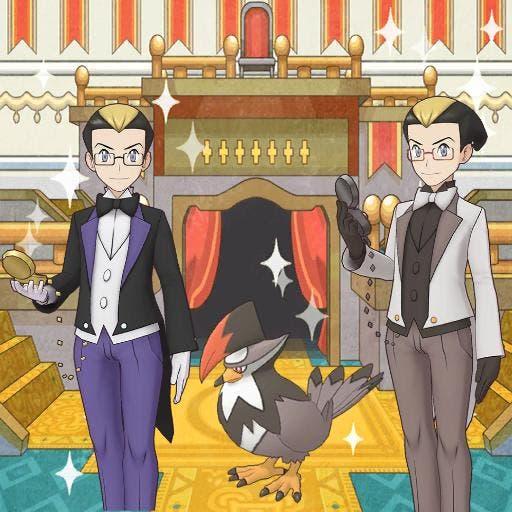 Pokemon Masters EX Kokuran y Staraptor
