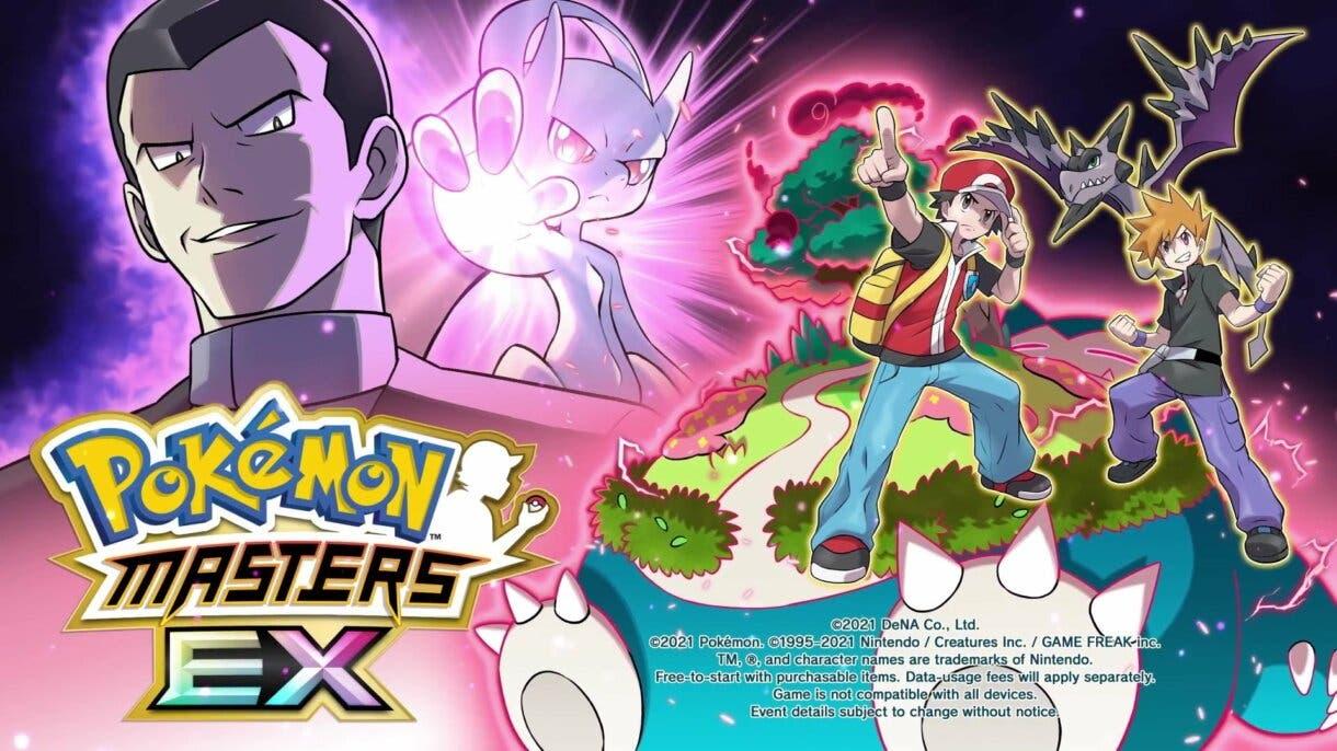 Pokemon Masters EX Rojo Azul Giovanni
