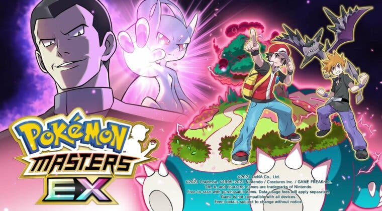 Imagen de Pokémon Masters EX presenta novedades: Rojo y Azul con nuevos compis, Mega-Mewtwo Y, etc.