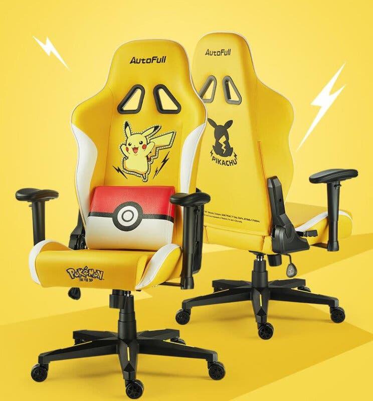 Pokemon silla gaming Pikachu