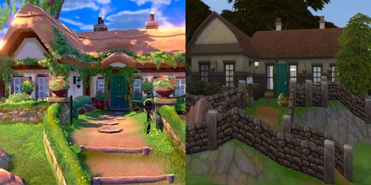 pokemon sword house and sims remake