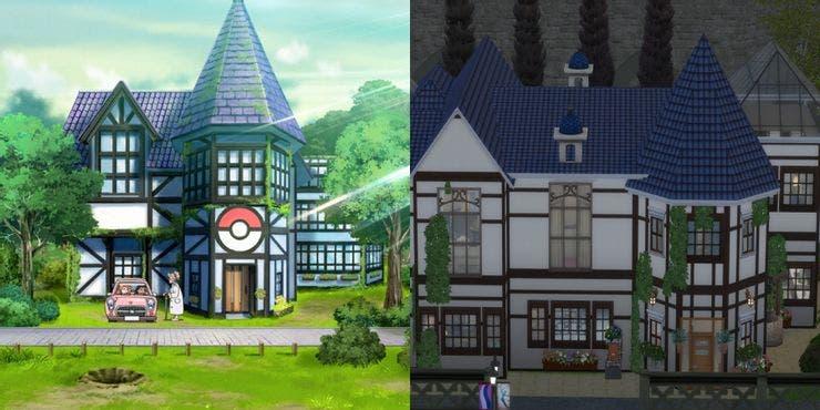 pokemon sword lab in sims 4