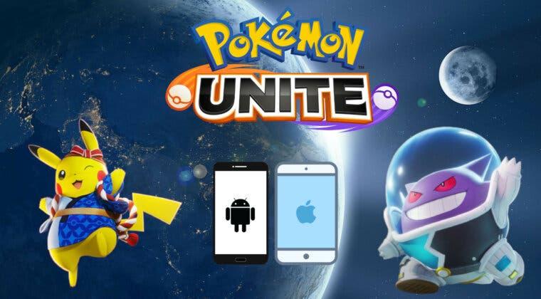 Imagen de Pokémon UNITE ya está disponible en dispositivos móviles