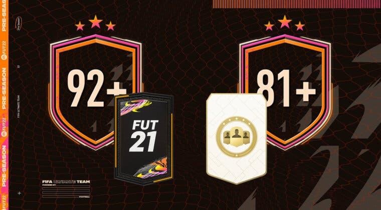 """Imagen de FIFA 21: ¿Merecen la pena los SBC's """"Mejora de 92+ x10"""" y """"Elección de jugador 81+""""?"""