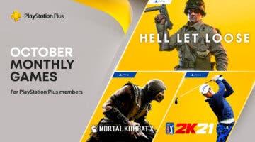 Imagen de PS Plus octubre de 2021: confirmados los juegos gratis del servicio para PS4 y PS5