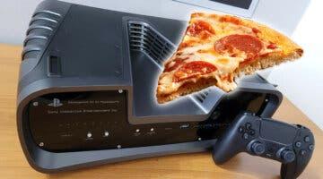 Imagen de Venden en eBay un devkit de PS5 con un trozo de pizza encima (y por un alocado precio)
