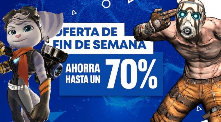 Imagen de Nuevas rebajas en juegos de PS4 y PS5 llegan hoy a PS Store con Las Ofertas de Fin de Semana
