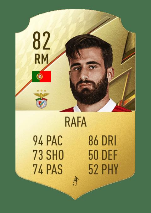 FIFA 22 medias: estos son los jugadores más rápidos de Ultimate Team y Modo Carrera Rafa