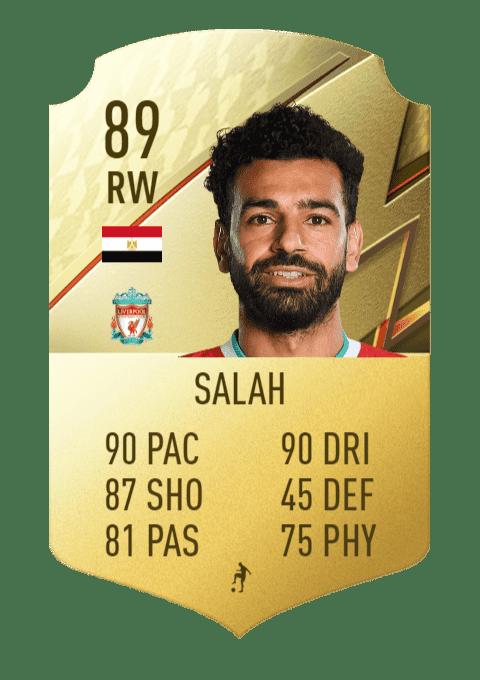 FIFA 22 medias: los mejores regateadores de Ultimate Team y Modo Carrera Salah