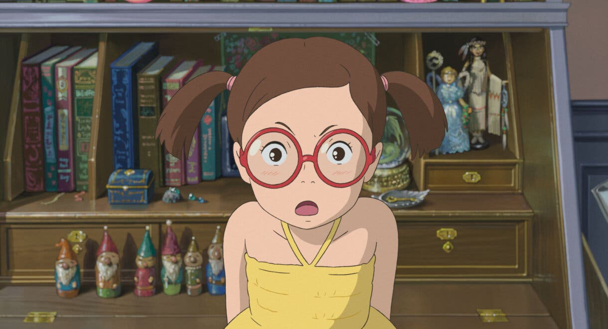 Sayaka El Recuerdo de Marnie Studio Ghibli