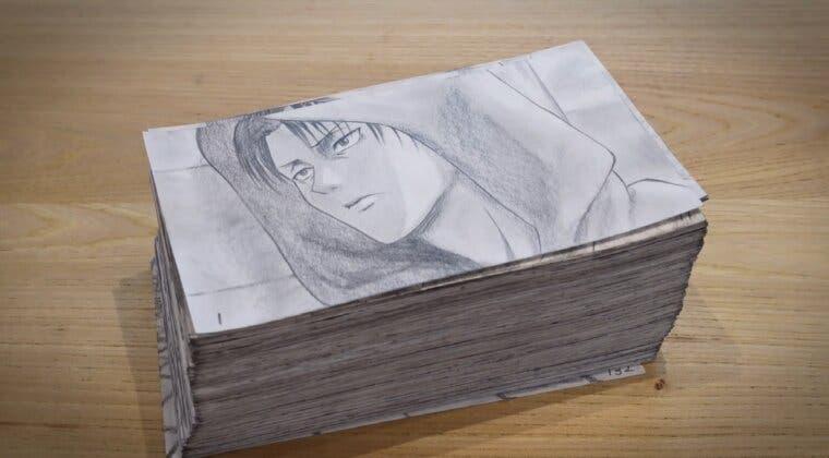 Imagen de Shingeki no Kyojin: Un artista se pasa 400 horas recreando la pelea de Levi contra Kenny