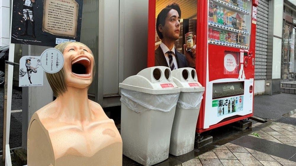 shingeki no kyojin trash bin