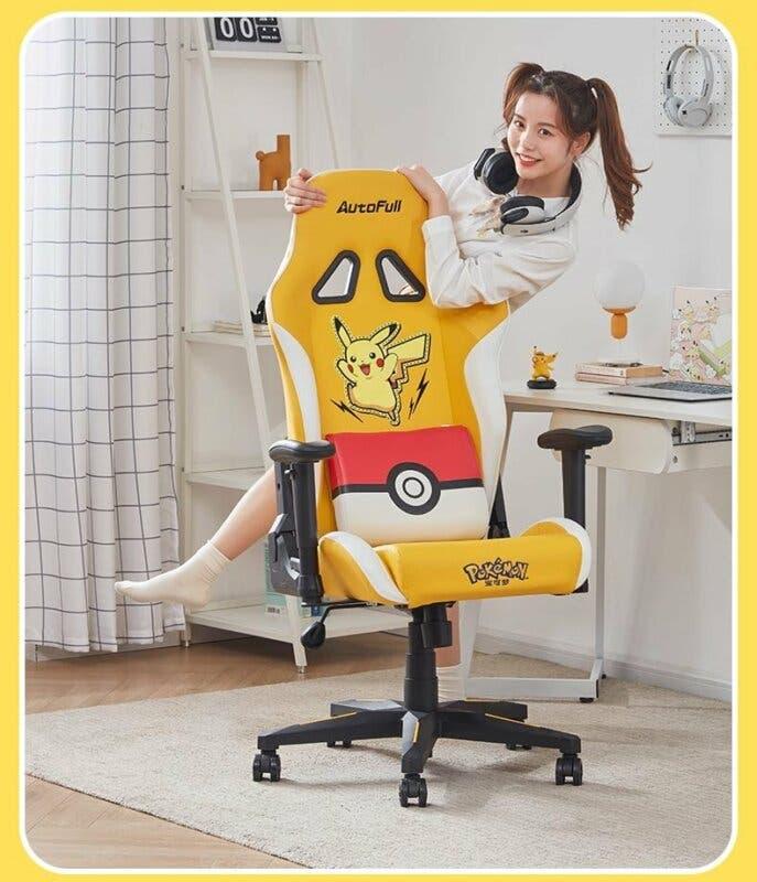 silla gaming Pokemon Pikachu
