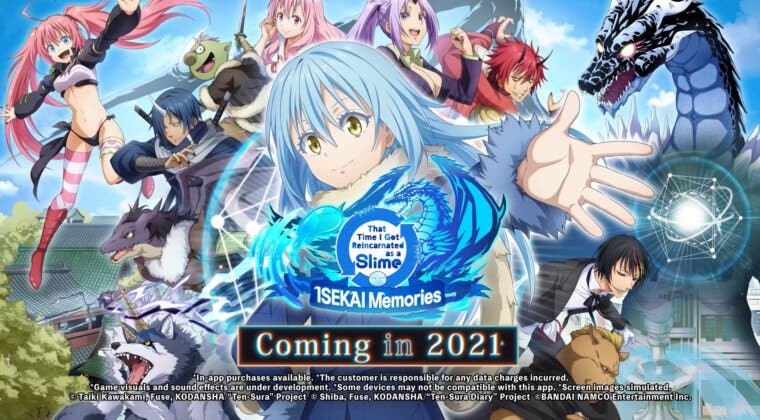 Imagen de Tensei Shitara Slime Datta Ken anuncia su juego ISEKAI Memories para Occidente