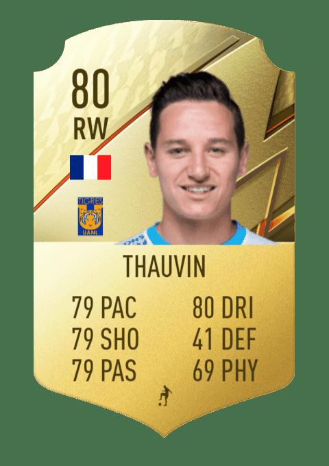 FIFA 22 medias: estas son las mejores cartas de la Primera División de México (Liga BBVA MX) Ultimate Team Thauvin