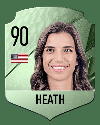 Estas son las mejores jugadoras de FIFA 22 (medias) Heath