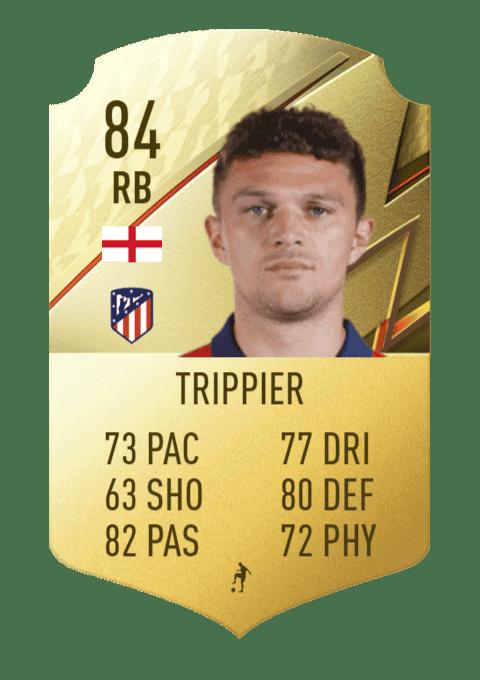 FIFA 22 medias: estas son todas las cartas del Atlético de Madrid en Ultimate Team Trippier