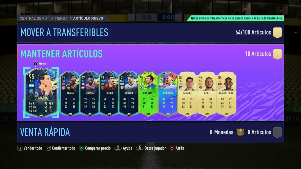FIFA 21: con este truco es muchísimo más fácil conseguir las mejores cartas de Ultimate Team (úsalo mientras esperas la llegada de FIFA 22)
