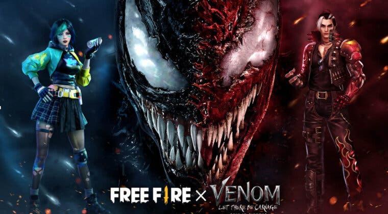 Imagen de Free Fire anuncia su espectacular evento de colaboración con Venom; fecha y primeros detalles