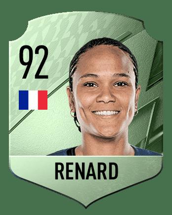 Estas son las mejores jugadoras de FIFA 22 (medias) Renard
