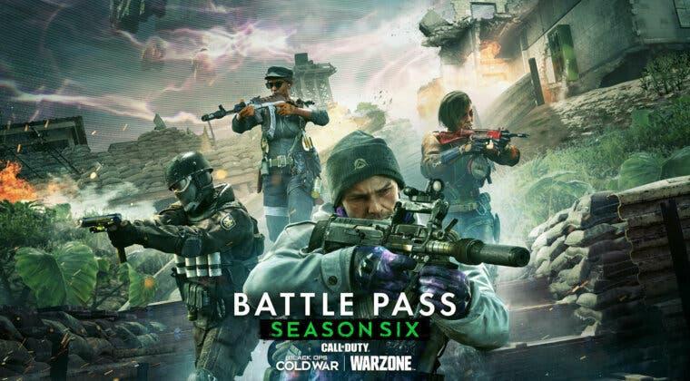 Imagen de Todos los niveles y recompensas del Pase de Batalla de la temporada 6 en Warzone y Black Ops Cold War