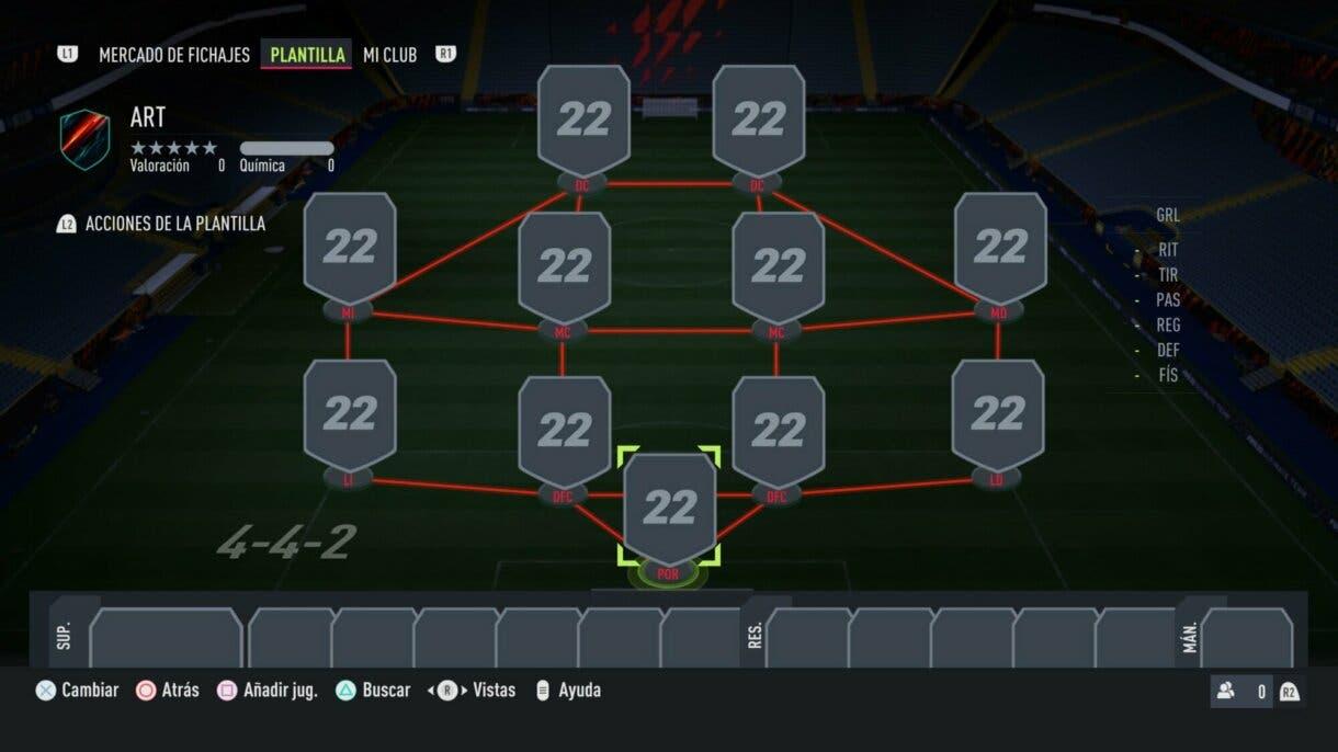 FIFA 22: tácticas para utilizar la formación 4-4-2, un sistema que sigue siendo competitivo en Ultimate Team