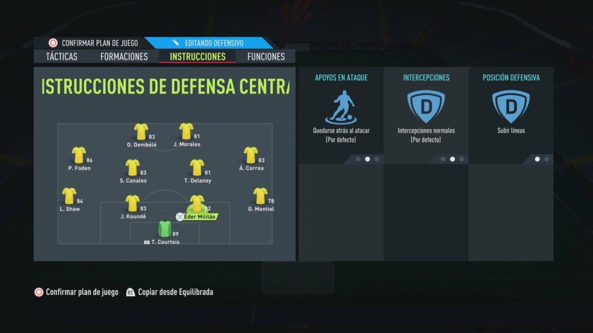 FIFA 22: tácticas para utilizar la formación 4-4-2, un sistema que sigue siendo competitivo en Ultimate Team caso de los centrales