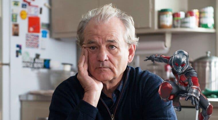 Imagen de Bill Murray revela que ha participado en el rodaje de Ant-Man y la Avispa: Quantumania