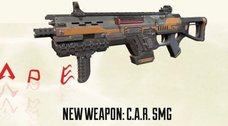 Imagen de Apex Legends confirma nuevo arma de la temporada 11, la C.A.R. SMG