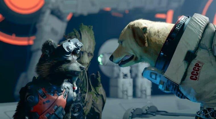 Imagen de Cosmo, el perro espacial soviético telepático, es el prota del nuevo tráiler de Marvel's Guardians of the Galaxy
