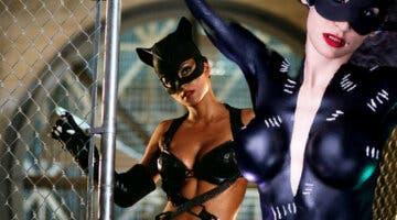 Imagen de El artístico cosplay de Catwoman en body paint que deja muy poco a la imaginación