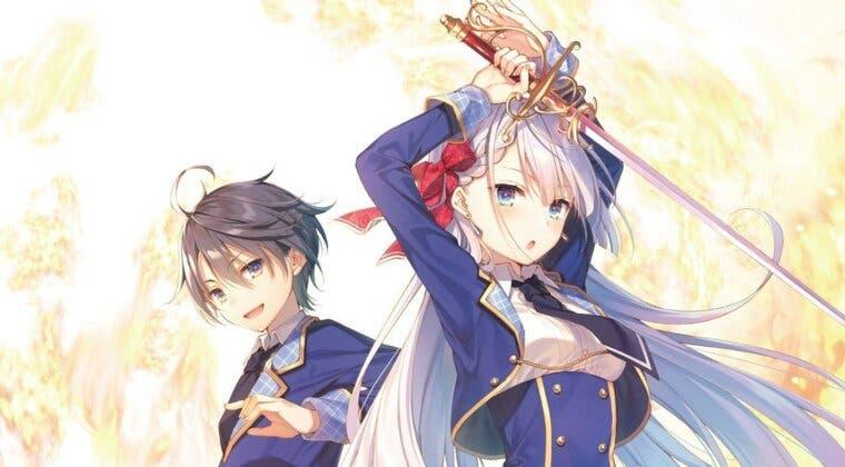 Imagen de The Demon Sword Master of Excalibur Academy anuncia su propio anime
