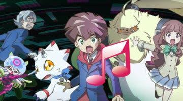 Imagen de Así suena el opening de Digimon Ghost Game