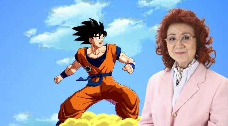 Imagen de Masako Nozawa, la voz de Goku en Dragon Ball, recibe un premio por su trayectoria profesional