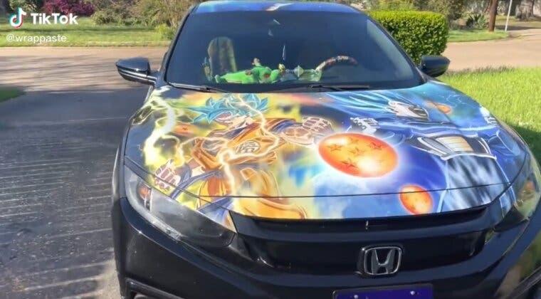 Imagen de Tunean un coche con Dragon Ball y queda este brutal resultado