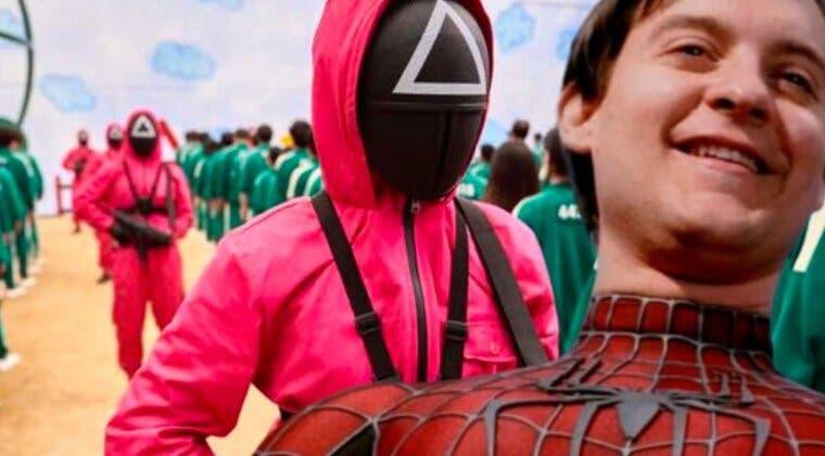 Imagen de El Juego del Calamar: Así de divertida sería la serie de Netflix protagonizada por Tobey Maguire
