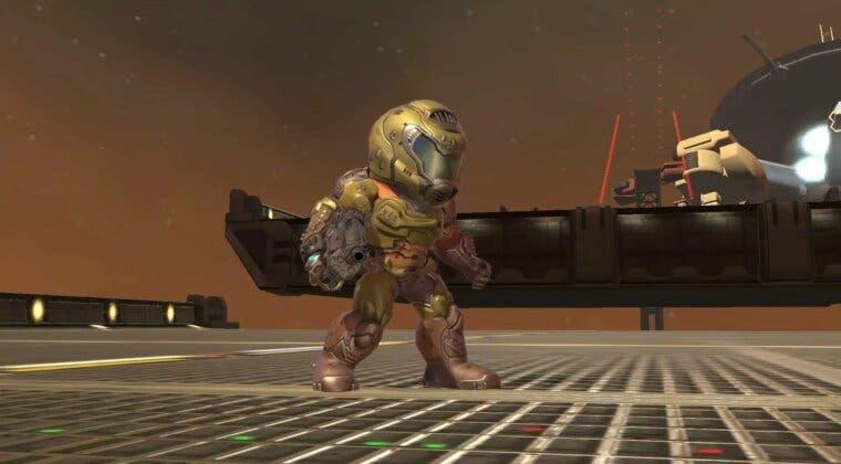 Imagen de Doom Slayer llega a Super Smash Bros. Ultimate (pero en forma de disfraz para Mii)
