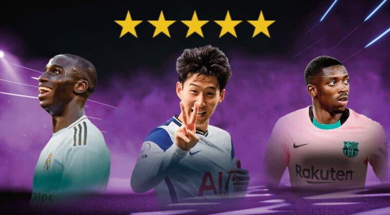 Imagen de FIFA 22: plantilla competitiva de Ultimate Team para los amantes de las cinco estrellas de pierna mala