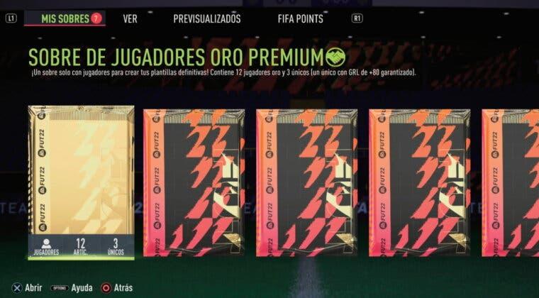 Imagen de FIFA 22: así es la nueva animación de los caminantes en sobres tras el primer parche