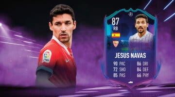 Imagen de FIFA 22: review de Jesús Navas. ¿Lateral top? ¿Demasiado caro para su rendimiento?