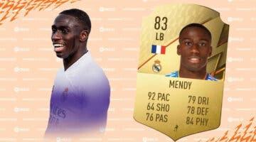 Imagen de FIFA 22: review de Ferland Mendy. ¿Merece la pena pagar tanto por él?
