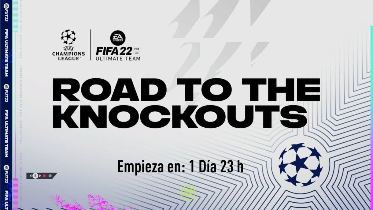 FIFA 22: confirmado un nuevo e inesperado evento para Ultimate Team Road to the Knockouts pantalla de carga
