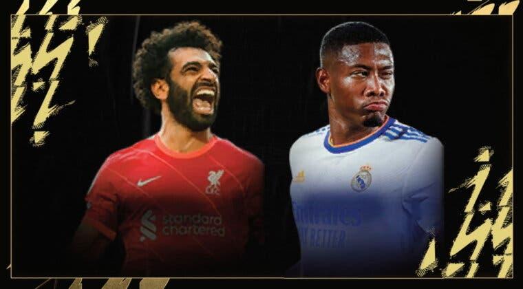Imagen de FIFA 22: Salah y Alaba destacan en un TOTW 6 con varias mejoras de OTW (Equipo de la Semana)