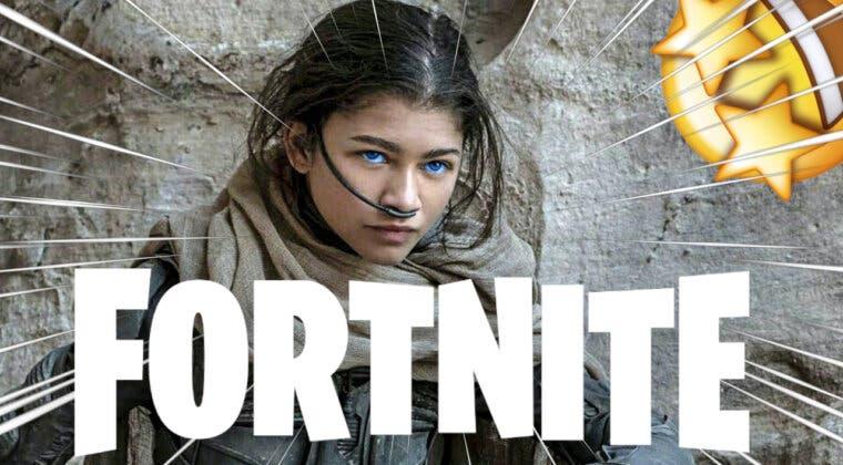 Imagen de Fortnite filtra un nuevo crossover con Dune, Zendaya y más skins increíbles