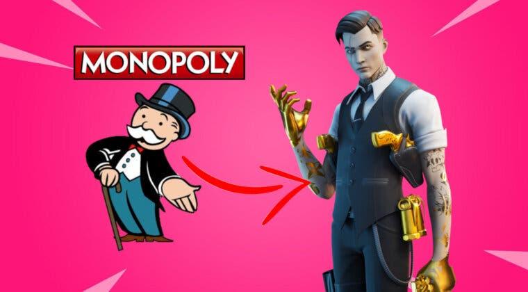 Imagen de Fortnite se alía con Hasbro para crear una increíble edición coleccionista del Monopoly